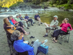 singing on the rogue river.